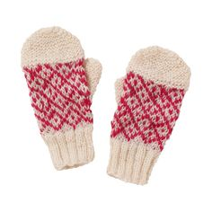 Check Cream Mittens (19 AUD) ❤ liked on Polyvore featuring accessories, gloves, fillers, scarves, cream gloves, mitten gloves, hand knit mittens and people tree