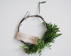 Simple DIY rustic wreath |  Best Day Ever