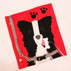 """Custom Hand-Crafted Quiet Book Page- """"Give the Dog a Bone"""" - Single Page to…"""