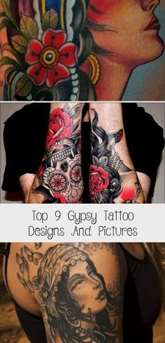 Top 9 Gypsy Tattoo Designs And Pictures - Tattoos Gypsy Tattoo Design, Compass Tattoo Design, Black Tattoo Cover Up, Solid Black Tattoo, Raven Tattoo Meaning, Tattoos With Meaning, Leg Tattoos, Tattoos For Guys, Tattoos For Women