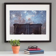 Look what I found at UncommonGoods: Starry Night Brooklyn Bridge for $95.00 - 185.00