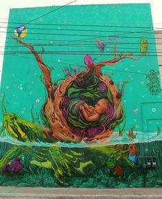 SENS http://www.widewalls.ch/artist/sens/ #drawing #graffiti #illustration #murals #streetart #urbanart