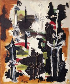 Nanno de Groot, Untitled, 1951,  Oil on canvas, 24 x 20 inches