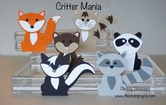 Critter Mania Using the Fox Builder Punch from Stampin Up! Episode #1 - ...