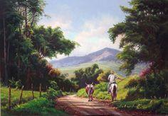 Click on picture for painting tutorial by Tulio Dias - Conduzindo a criação