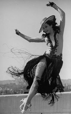 Ann Miller ~ fastest tap dancer in Hollywood