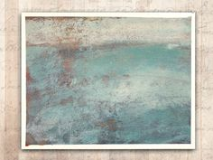 Impressionist Painting of an Ocean Scene — Unframed Painting in Cold Wax and Oil on Archival Paper Ocean Scenes, Impressionist Paintings, Original Art, Wax, Cold, Paper, Artist, Etsy, Artists