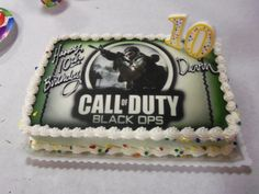 call of duty black ops zombie cake - Google Search