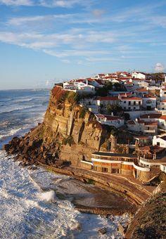 Azenhas do Mar, Sintra, Portugal. Follow us @ SIGNATUREBRIDE on Twitter and on Facebook at SIGNATURE BRIDE MAGAZINE