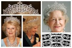 Inglaterra - The Boucheron Honeycomb Tiara