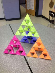 Tetrahedron installation