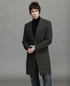 In pictures: Liam Gallagher for Pretty Green - Fashion Galleries - Telegraph Indie Rock Fashion, Mod Fashion, Green Fashion, Crombie Coat, Liam Gallagher Oasis, Mod Hair, Cool Outfits, Casual Outfits, Casual Clothes