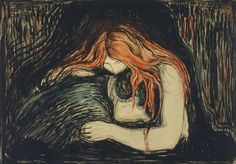 Bohemian Forest: FEELIN THE EDVARD MUNCH IN ME TODAY....