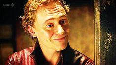 11. He's just a cheeky lil' devil. #Tom Hiddleston. #I'm doomed!! DOOMED!