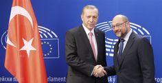 Θέμα σχέσεων ΕΕ - Τουρκίας θέτει ο Σουλτς μετά τις συλλήψεις βουλευτών ~ Geopolitics & Daily News
