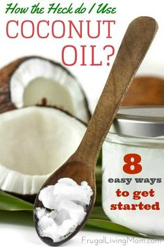 Have you used coconut oil yet?  We LOVE it, it is perfect to use on the body and for cooking.  It's great on homemade popcorn!  It also can save you money when you make DIY beauty products with it.