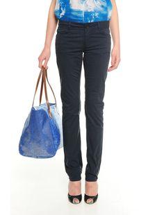 Pantalone in cotone WILLIAM 44 Bordeaux, Bucket Bag, Fashion, Moda, Fashion Styles, Bordeaux Wine, Fashion Illustrations