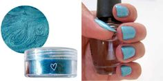 Turn eyeshadow into nail polish. | 20 Unexpected Uses For Your Beauty Products