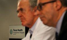 EUA confirma primeiro caso de ebola no país   #CDC, #Ebola, #Epidemia, #Isolamento, #Vacinas