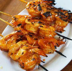 Grilled prawn with Apung Sauce  www.warungapung.com