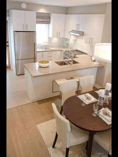 Casi el mismo espacio que tengo en mi cocina.