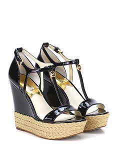 Zeppa Black Michael Kors - Le Follie Shop. Scarpe Con ... db1af0efb75