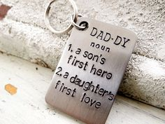 Daddy A Son's First Hero A Daughter's First Love.  by BBeadazzled, $18.00