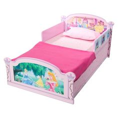Delta Children's Products Disney Princess Wooden Toddler Bed.Opens in a new window