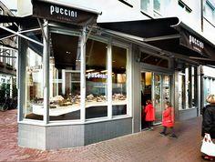 Puccini Bomboni chocolate shop, Singel 184, Amsterdam