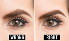 Your brows frame your face and give it structure, so it's important to keep your brows polished. See our best beauty tips for maintaining your eyebrows. Arch Brows, Arched Eyebrows, Korean Beauty Routine, Beauty Routines, Best Beauty Tips, Beauty Hacks, Beauty Trends, Makeup Tips, Eye Makeup