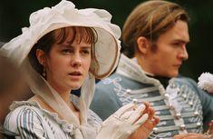 Jena Malone (Lydia Bennet) & Rupert Friend(Mr. George Wickham) - Pride & Prejudice (2005) directed by Joe Wright #janeausten