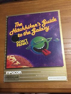 Commodore 64 The Hitchhikers Guide To Galaxy Infocom Complete Free Ship