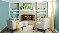 dated fireplace - Google Search