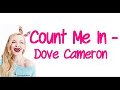 Dove Cameron Count Me In Liv & Maddie - YouTube This is A great sister song!