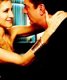 Carrie's last single girl kiss.