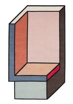 Tapis géométriques par Patricia Urquiola pour cc-tapis - Journal du Design
