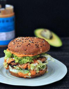 Spicy Peanut Butter Burger @spabettie: