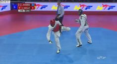 Watch GB's Lutalo Muhammad win World Taekwondo silver http://bbc.in/1LYAcPC