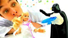 Звёздные Войны в МегаКлинике! Видео игрушки STAR WARS. #ДартВейдер ранен...