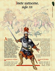 Saracen cavalryman, XII c.