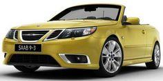 2011 Saab 9-3 Monte Carlo Yellow Convertible
