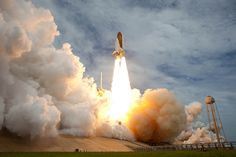 July 8, 2011. Space shuttle Atlantis launches from pad 39A at NASA's Kennedy Space Center in Cape Canaveral, Fla. The launch of Atlantis, STS-135, is the final flight of the shuttle program, a 12-day mission to the International Space Station. Photo & caption credit: NASA/Bill Ingalls