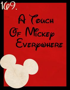 The Magic Awaits (169: A Touch of Mickey Everywhere)