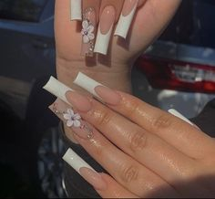 Acrylic Nails Coffin Pink, Long Square Acrylic Nails, Bling Nails, Swag Nails, Glow Nails, Fire Nails, Minimalist Nails, Acrylic Nail Designs, Nails Inspiration