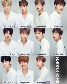 wanna one members name✨ << Life saving stuff right here Jinyoung, K Pop, Monsta X, Nct, Btob, Oppa Ya, Jaehwan Wanna One, Korean Boy Bands, Ha Sungwoon
