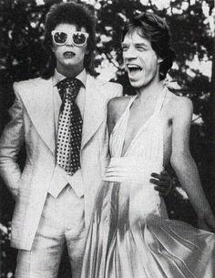 Jagger e Bowie