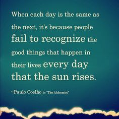 Recognize Goodness Each Day :)