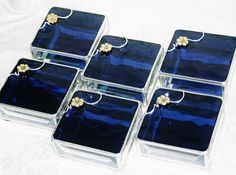 Bridal Attendants Gifts Stained Glass Jewelry Boxes by GaleazGlass, $146.00