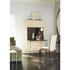 a little inspiration from watching Sex in the City 2 tonight. Hallings Secretary by Hickory Chair
