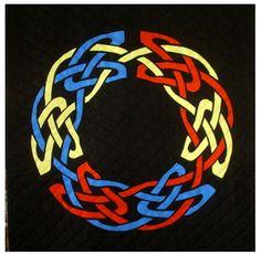Knotty Celtic Knots by Raymond K. Houston at Nacho Grandma's Quilts